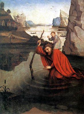 القديس خريستوفر بلاد اكله لحوم